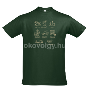 okovolgy polo bottlegreen